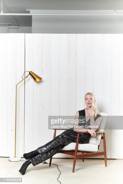 Actress Anya TaylorJoy is photographed for Forbes Magazine on January 18 2019 in London England CREDIT MUST READ Levon Biss/The Forbes...