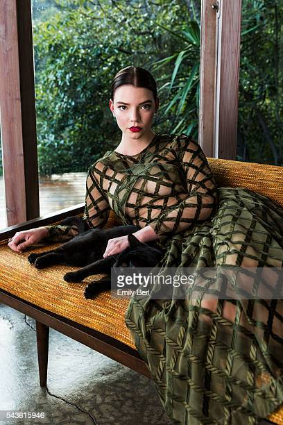 Actress Anya TaylorJoy is photographed for The Hollywood Reporter on February 3 2016 in Los Angeles California PUBLISHED IMAGE