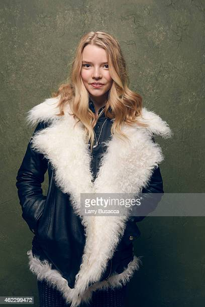 Actress Anya TaylorJoy of 'The Witch' poses for a portrait at the Village at the Lift Presented by McDonald's McCafe during the 2015 Sundance Film...