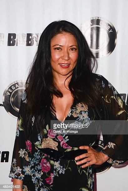 Actress Anzu Lawson attends the movie premiere of Shooting The Warwicks at Arena Cinema Hollywood on August 7 2015 in Hollywood California
