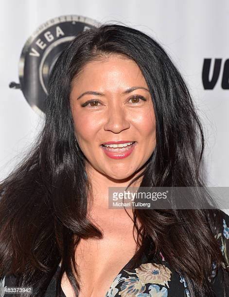Actress Anzu Lawson attends the premiere of Blump International Films' Shooting The Warwicks at Arena Cinema Hollywood on August 7 2015 in Hollywood...
