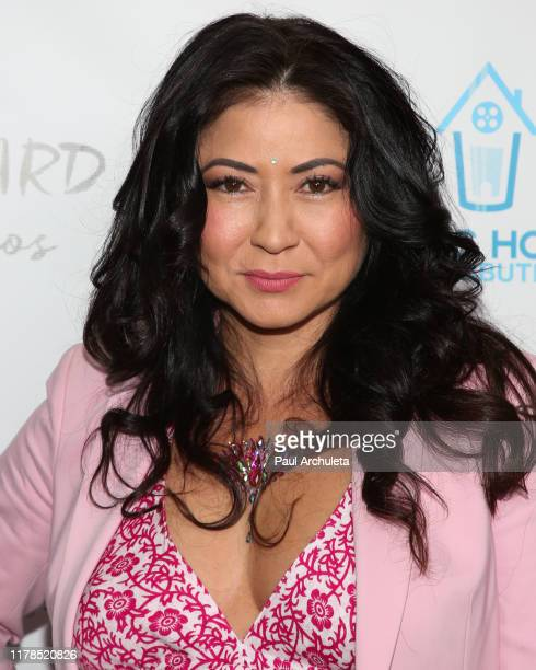 Actress Anzu Lawson attends the premiere of Trauma Therapy at the Harmony Gold Theater on October 01 2019 in Los Angeles California