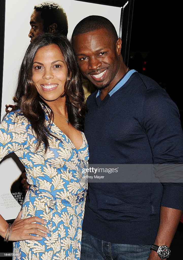 Actress Aonika Laurent (L) and actor Sean Patrick Thomas arrive at the Los Angeles premiere of '12 Years A Slave' at Directors Guild Of America on October 14, 2013 in Los Angeles, California.