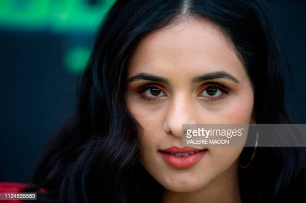 Actress Aparna Brielle attends the world premiere of Disney channel original movie 'Kim Possible' in North Hollywood California on February 12 2019