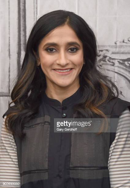 Actress Aparna Nancherla visits Build Series to discuss the series 'Crashing at Build Studio on January 8 2018 in New York City