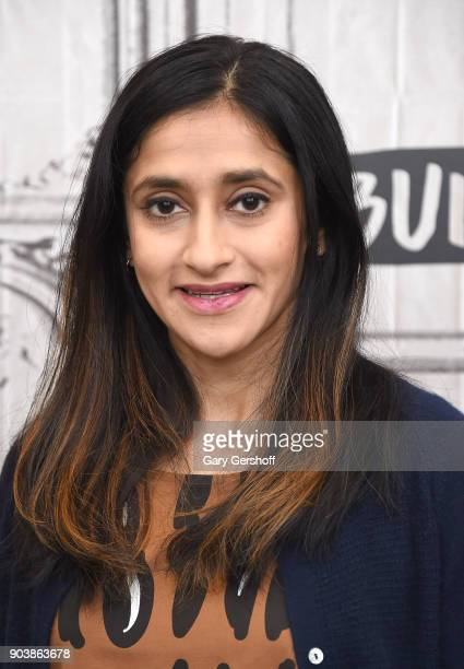 Actress Aparna Nancherla visits Build Series to discuss the series 'Corporate' at Build Studio on January 11 2018 in New York City