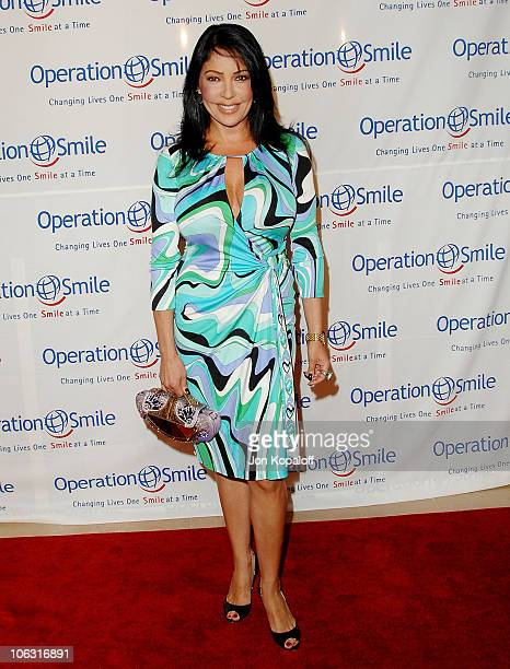 Actress Apollonia Kotero arrives at 'Operation Smile 25th Anniversary Gala' at the Beverly Hilton Hotel on October 5 2007 in Beverly Hills California