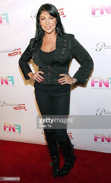 Actress Apollonia Kotero arrives at the 12th annual Friends and Family Grammy preparty at Paramount Studios on February 6 2009 in Los Angeles...