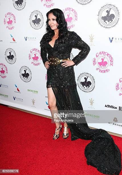 Actress Apollonia Kotero attends the 2016 Carousel Of Hope Ball at The Beverly Hilton Hotel on October 8 2016 in Beverly Hills California