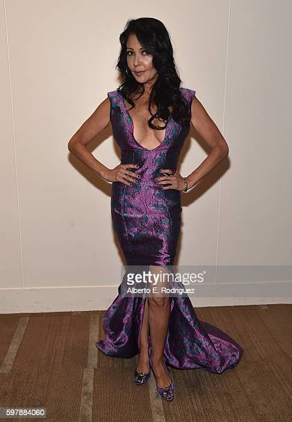Actress Apollonia Kotero attends The Academy Of Picture Arts Sciences' Screening and QA for 'Purple Rain' at The Samuel Goldwyn Theater on August 29...