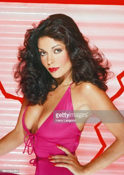 Actress Apollonia Kotero poses for a portrait in 1981 in Los Angeles California