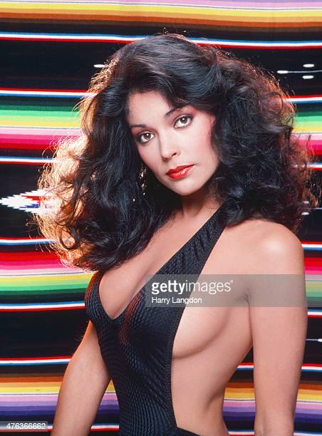 Actress Apollonia Kotero poses for a portrait in 1985 in Los Angeles California