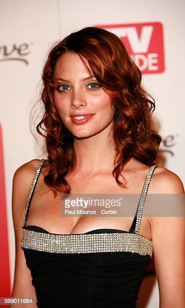 Actress April Bowlby arrives at the 58th Primetime Emmy Awards TV Guide after party held at Social Hollywood