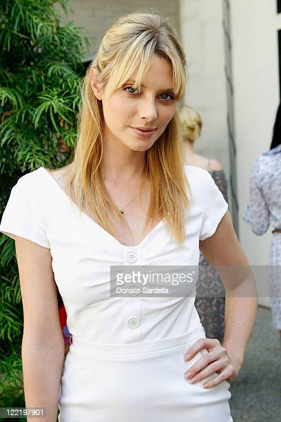 Actress April Bowlby attends the 3rd Annual Operation Smile Luncheon hosted by Dior BEAUTY held at Palihouse Holloway on August 23 2011 in West...