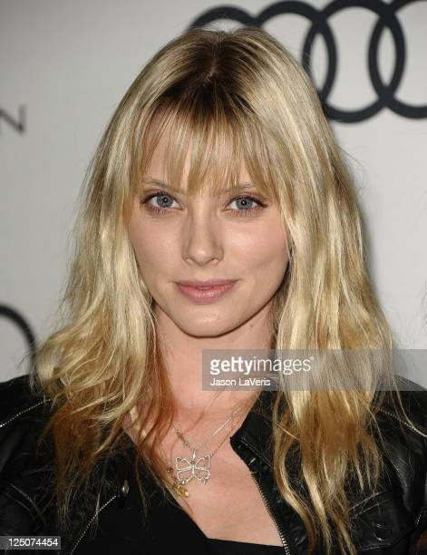 Actress April Bowlby attends the Emmy week kick off cocktail party at Cecconi's Restaurant on September 11 2011 in Los Angeles California