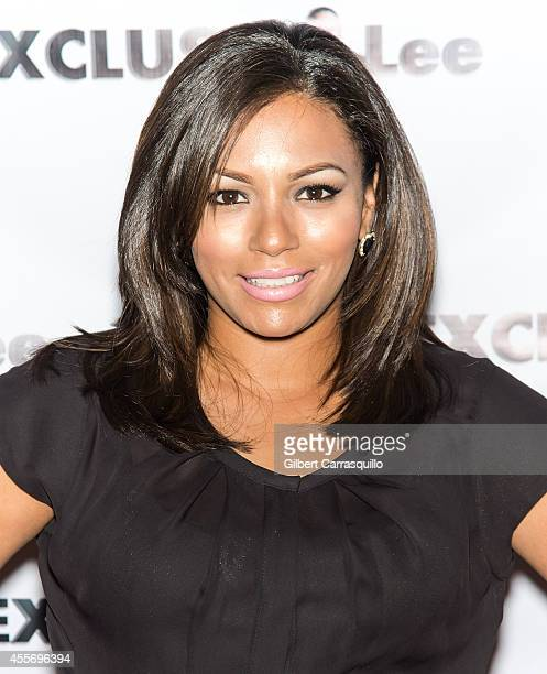 Actress April Lee Hernandez attends the New York Launch party for Exclusivlee.com at Stray Kat Gallery on September 18, 2014 in New York City.