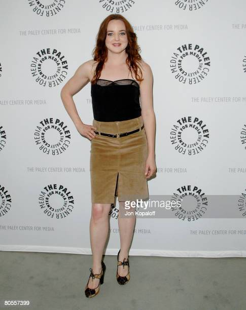 Actress April Matson arrives at 'Kyle XY' presented by The Paley Center Events for Media 2008 at the The Paley Center on April 7 2008 in Beverly...