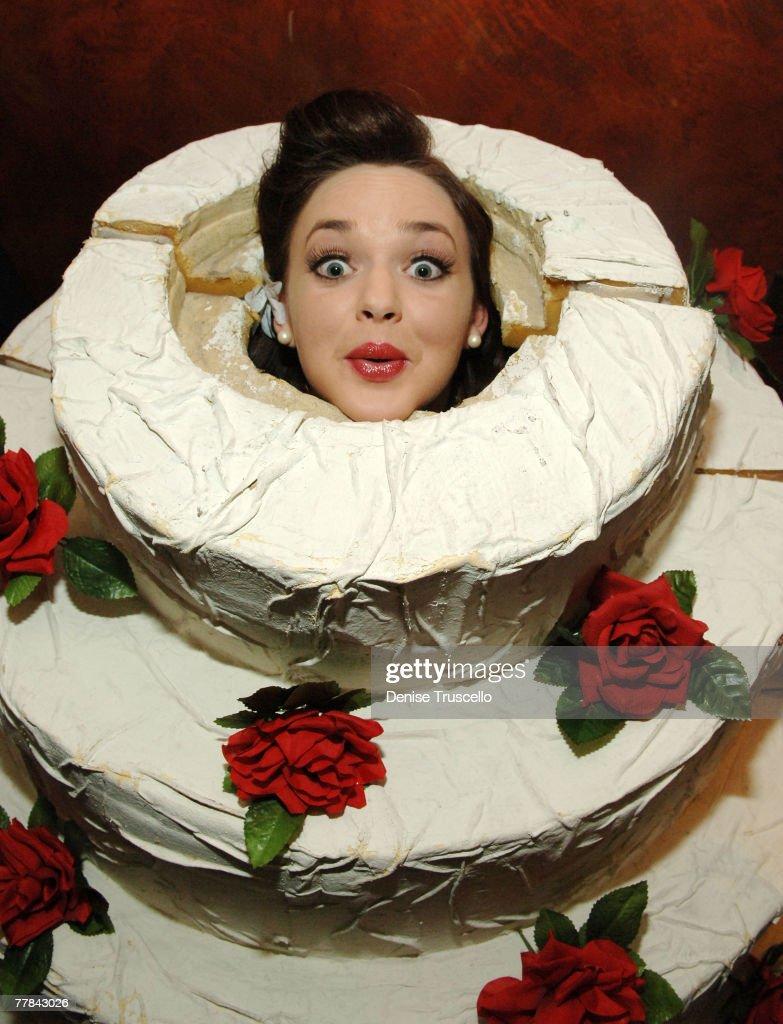 Actress April Matson attends Matt Dallas' birthday ...