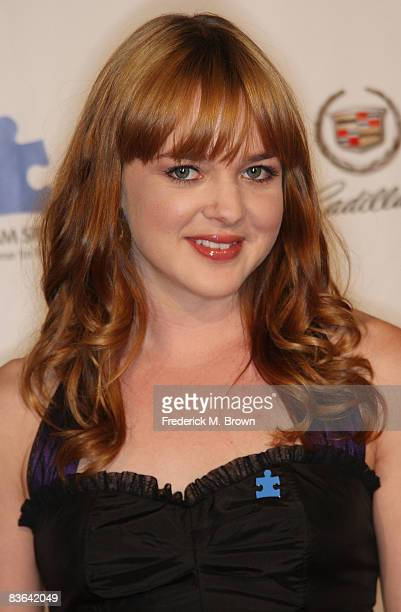 Actress April Matson attends the Autism Speaks Sixth Annual Acts of Love Celebration at The Geffen Playhouse on November 10 2008 in Westwood...