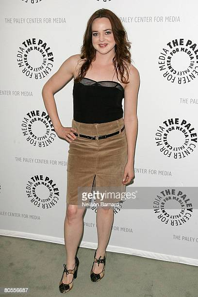 Actress April Matson attends The Payley Center for Media Presents This April 2008 Kyle XY at The Paley Center on April 7 2008 in Beverly Hills...