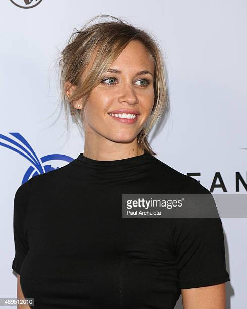 Actress Aqueela Zoll attends the Impact Africa Fundraiser at Sunset Gower Studios on September 21 2015 in Hollywood California