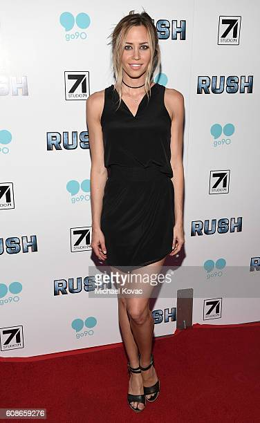 Actress Aqueela Zoll attends the Los Angeles Premiere of Go90 Studio and Studio 71's 'Rush Inspired by Battlefield' on September 19 2016 in Hollywood...