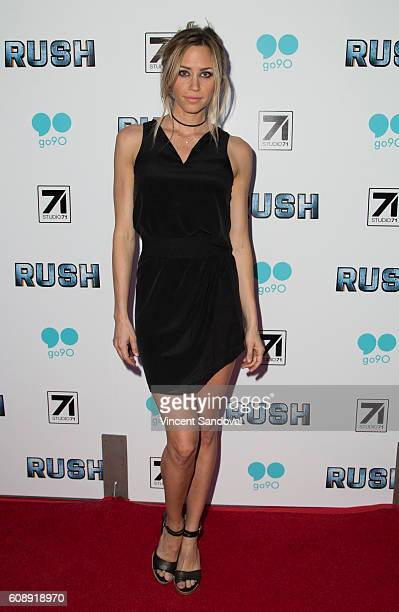 Actress Aqueela Zoll attends the premiere of Studio 71's 'Rush Inspired By Battlefield' at ArcLight Hollywood on September 19 2016 in Hollywood...