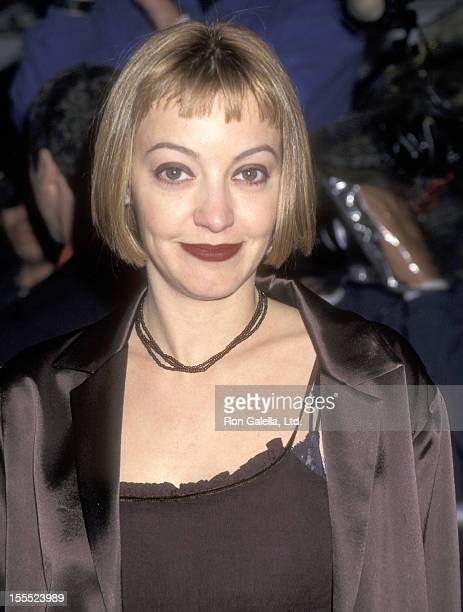 Actress Arabella Field attends the As Good as It Gets Westwood Premiere on December 6 1997 at Mann Village Theatre in Westwood California
