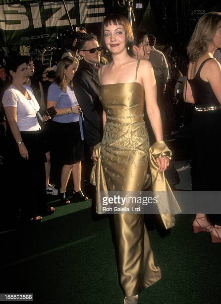 Actress Arabella Field attends the Godzilla New York City Premiere on May 18 1998 at Madison Square Garden in New York City