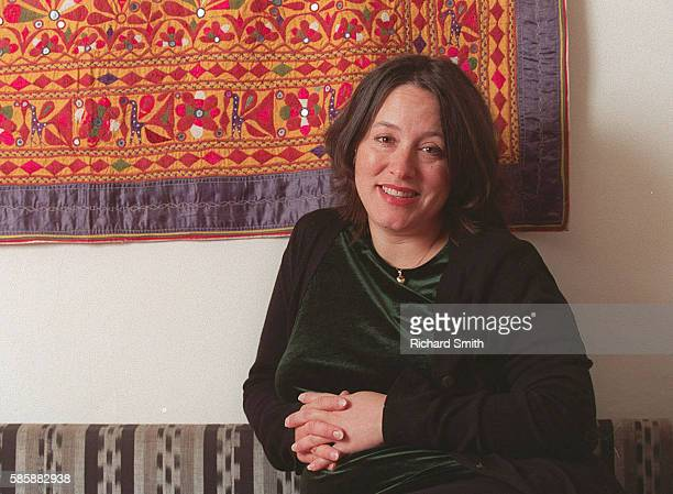 Actress Arabella Weir at Home
