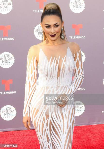 Actress Aracely Arambula attends the 2018 Latin American Music Awards at Dolby Theatre on October 25 2018 in Hollywood California