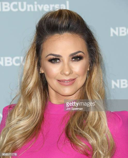 Actress Aracely Arambula attends the 2018 NBCUniversal Upfront presentation at Rockefeller Center on May 14 2018 in New York City