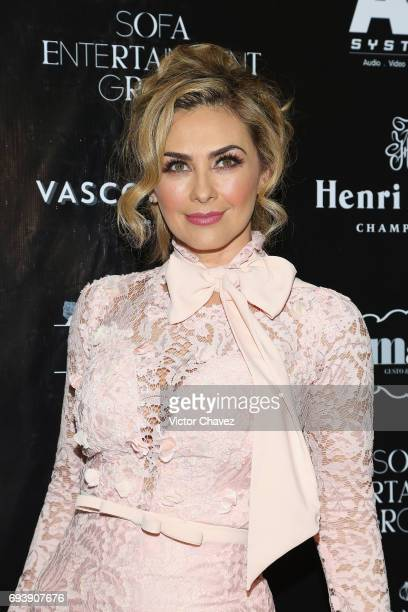 Actress Aracely Arambula attends the Mano A Mano exposition on June 7 2017 in Mexico City Mexico The objective of this exhibition is to raise funds...