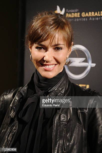 Actress Arancha del Sol attends the Opel Solidarity Party on October 23 2007 in Madrid Spain