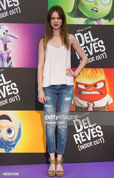 Actress Arancha Marti attends 'Inside Out' premiere at Callao cinema on July 15 2015 in Madrid Spain