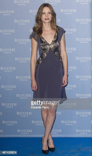 Actress Arancha Marti attends the Belvedere Vodka Night at Principe Pio train station on March 24 2015 in Madrid Spain
