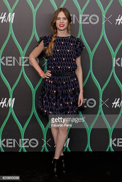 Actress Arancha Marti attends the Kenzo X HM photocall at HM store on November 2 2016 in Madrid Spain