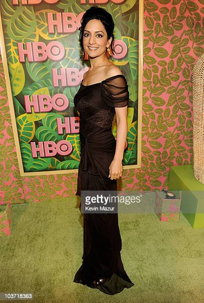 Actress Archie Panjabi attends HBO's 62nd Annual Primetime Emmy Awards After Party at Pacific Design Center on August 29, 2010 in West Hollywood,...