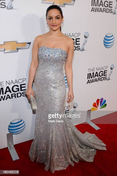 Actress Archie Panjabi attends the 44th NAACP Image Awards at The Shrine Auditorium on February 1 2013 in Los Angeles California