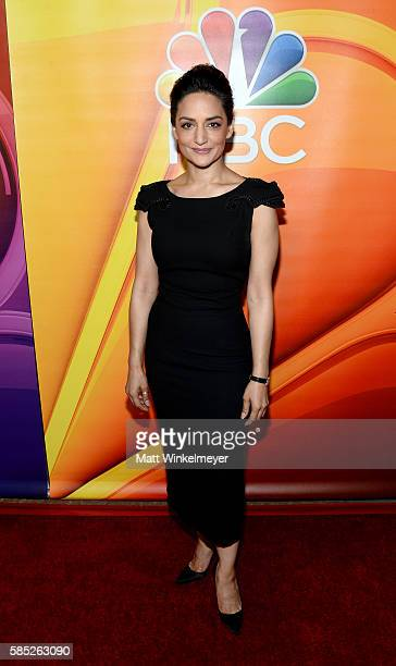 Actress Archie Panjabi attends the NBCUniversal press day during the 2016 Summer TCA Tour at The Beverly Hilton Hotel on August 2 2016 in Beverly...