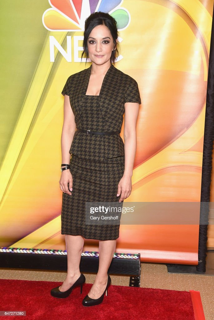 Actress Archie Panjabi attends the NBCUniversal Press Junket at the Four Seasons Hotel New York on March 2, 2017 in New York City.