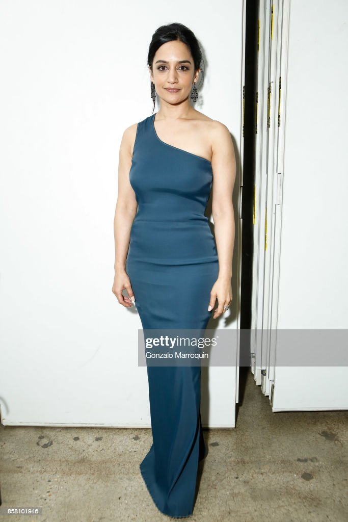 Actress Archie Panjabi during the CITTA Fest 2017 Fall Benefit at Tribeca Skyline Studios on October 5, 2017 in New York City.