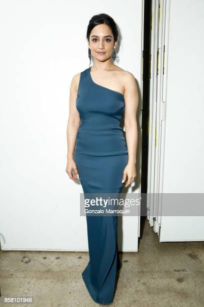 Actress Archie Panjabi during the CITTA Fest 2017 Fall Benefit at Tribeca Skyline Studios on October 5 2017 in New York City