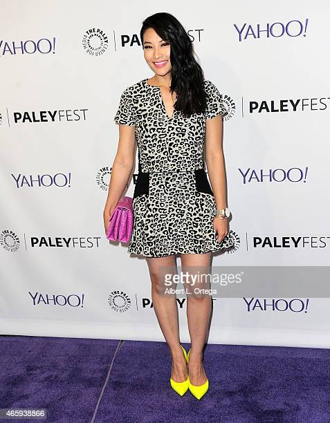 Actress Arden Cho arrives for The Paley Center For Media's 32nd Annual PALEYFEST LA 'Teen Wolf' held at Dolby Theatre on March 11 2015 in Hollywood...