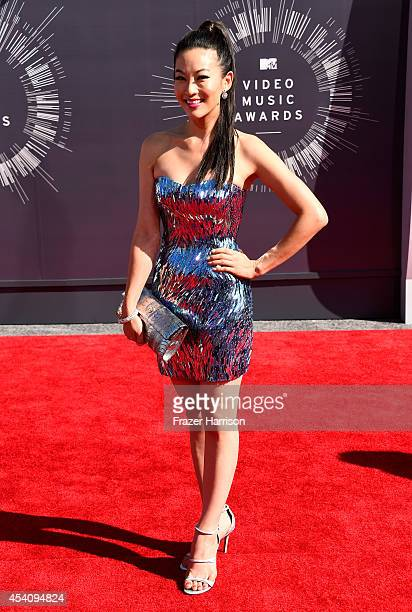 Actress Arden Cho attends the 2014 MTV Video Music Awards at The Forum on August 24 2014 in Inglewood California