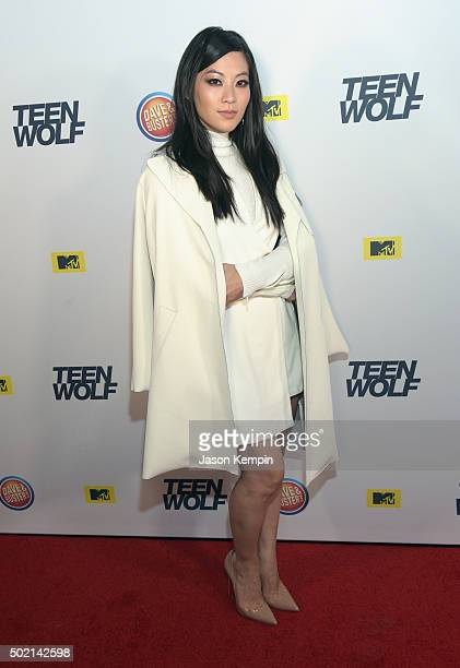 Actress Arden Cho attends the MTV Teen Wolf Los Angeles Premiere Party on December 20 2015 in Hollywood California