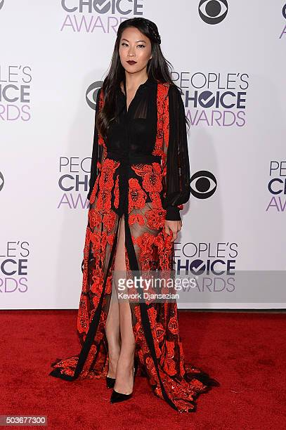 Actress Arden Cho attends the People's Choice Awards 2016 at Microsoft Theater on January 6 2016 in Los Angeles California