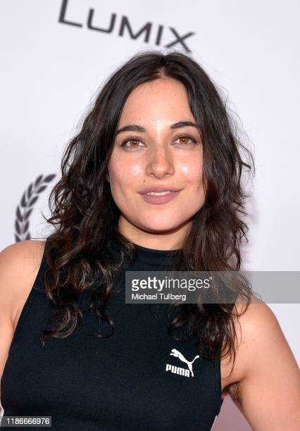 Actress Ari Anderson attends the Kash Hovey and Friends Film Block at Film Fest LA at Regal Cinemas LA LIVE Stadium 14 on November 09 2019 in Los...