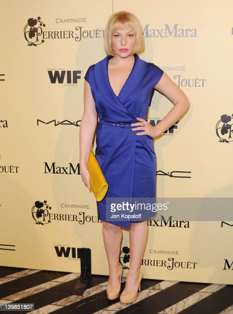 Actress Ari Graynor arrives at the 5th Annual Women In Film Pre-Oscar Cocktail Party at Cecconi's Restaurant on February 24, 2012 in Los Angeles,...