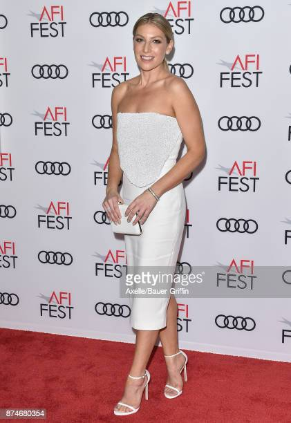 Actress Ari Graynor arrives at the AFI FEST 2017 presented by Audi screening of 'The Disaster Artist' at TCL Chinese Theatre on November 12 2017 in...